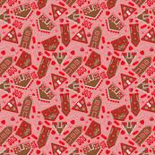 Gingerbread + Peppermint