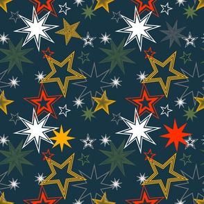 Sterne warme Harmonie