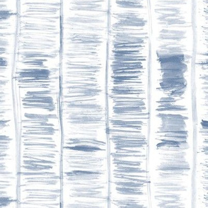 Indigo watercolor brush strokes with lines
