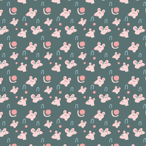 little mouse pattern