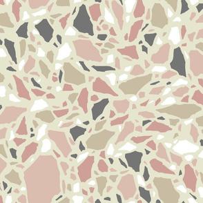 Terrazzo 01 - warm pastels