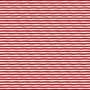 "4"" Red Stripes"
