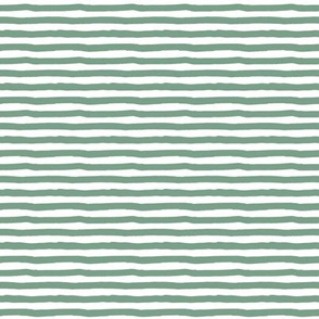 "8"" Sage Green Stripes"