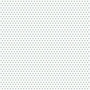 """4"""" Sage Green Polka Dots"""