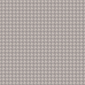 Houndstooth gray gray