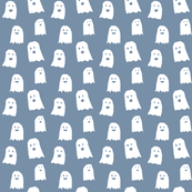 Ghosts - White on Blue - © Autumn Musick 2019