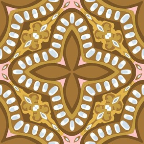 """8"""" Gingerbread Square 2 