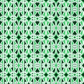 Simple Repeat in green