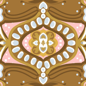 """18"""" Gingerbread Square 3 