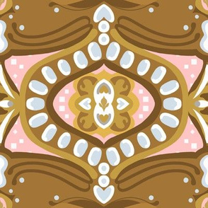 """8"""" Gingerbread Square 3 