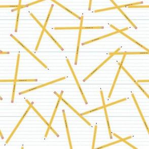 Tossed Pencils