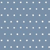 Dot - Cutout - White on Blue - © Autumn Musick 2019