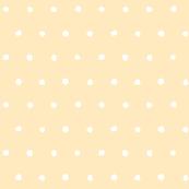 Dot - Cutout - White on Light Orange - © Autumn Musick 2019