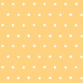 Dot - Cutout - White on Orange  - © Autumn Musick 2019
