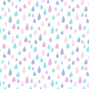 Four-Color Raindrops