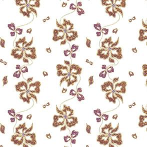 Haute Couture Hawaiian Garlands - bronze sparkle #1