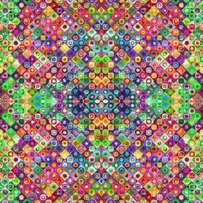 mini tiles chunk mosaic multicolor 4 PSMGE