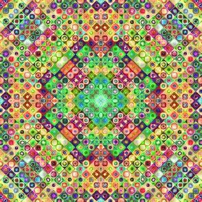mini tiles chunk mosaic multicolor 6 PSMGE