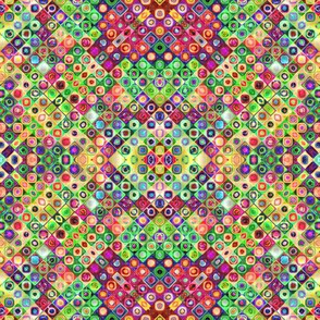 mini tiles chunk mosaic multicolor 7 PSMGE