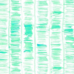 Aqua watercolor brush strokes with painted lines