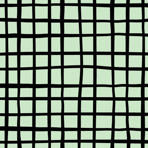Grid on mint