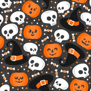 confetti halloween large size
