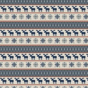 (micro scale) - moose || christmas sweater C19BS