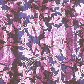 mendhi floral_grape vintage