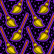 Witches Magic Brooms