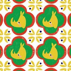 Rhino tiles
