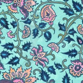 mendhi floral_mint