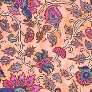 mendhi floral_peace