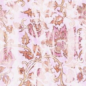 mendhi floral petal vintage