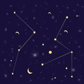 Night sky,galaxy,stars,space pattern