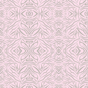 Tribal Bohemian soft pink