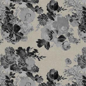 vintage bouquet-linen