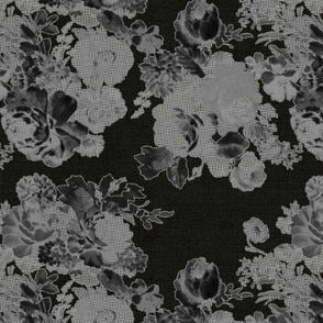 vintage bouquet-linen-dark