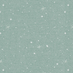 Snow and flake green 5575