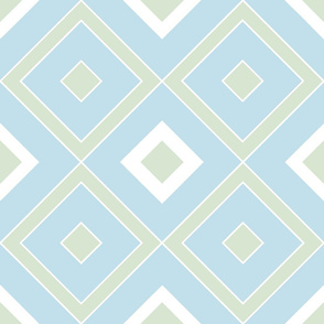 Geometric green&blue_025
