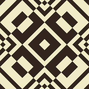 Geometric  brown_030