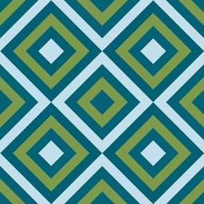 Geometric green&blue_032