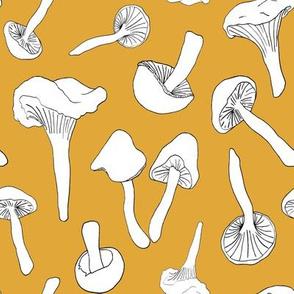 Wild Mushroom Toss in Gold