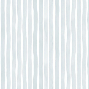 M+M Slate50 Vertical Watercolor Stripes by Friztin