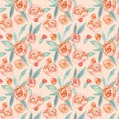 Peachy Keen Roses
