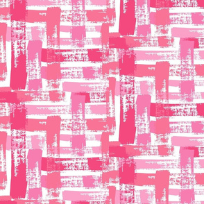 Crosshatch in All Pinks