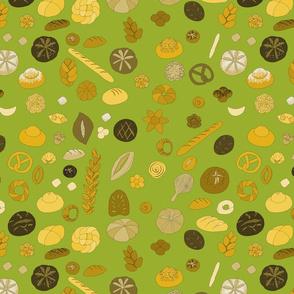 Boulangerie on green