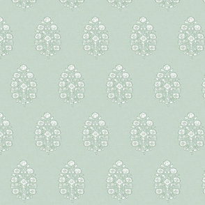 faded sage green mughal