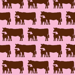 Red angus pink