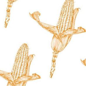 corncobs orange