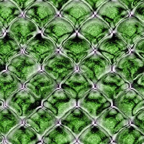 Etched Diamond Optical - Green